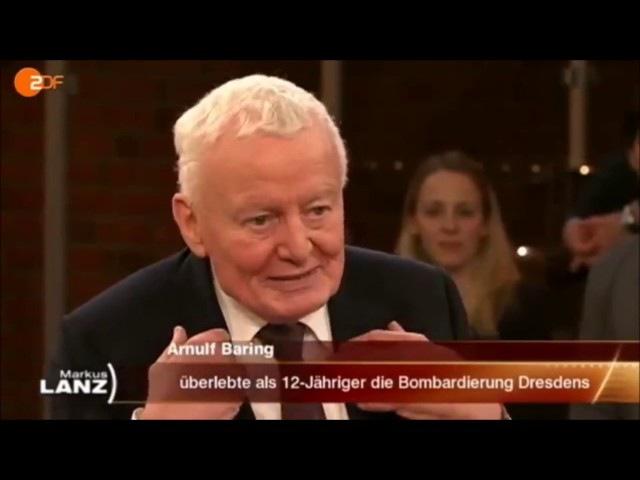 SKANDAL im Deutschen TV - Das Beste von Arnulf Baring über die EU /Meinungsfreiheit/Deutsche Politik