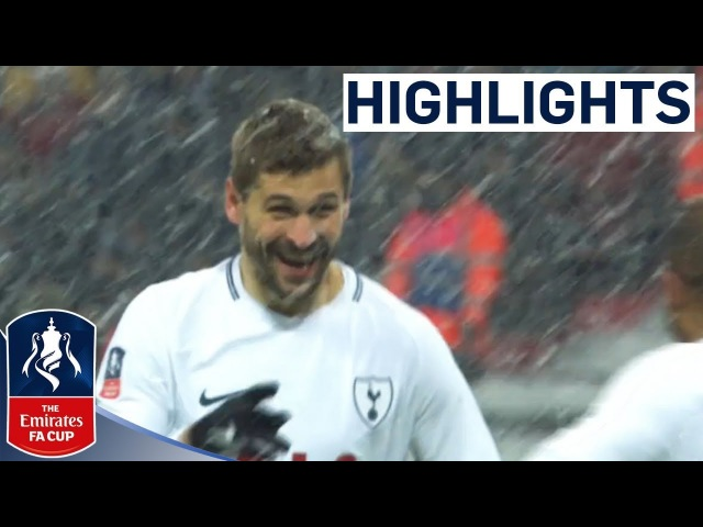 Llorente Hat-trick Sees Spurs Through | Tottenham 6-1 Rochdale | Emirates FA Cup 2017/18