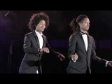 Les Twins performance at Vogue Paris Foundation Gala