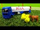 Мультики про машинки машины-помощники! Развивающее видео трактор, погрузчик и ...