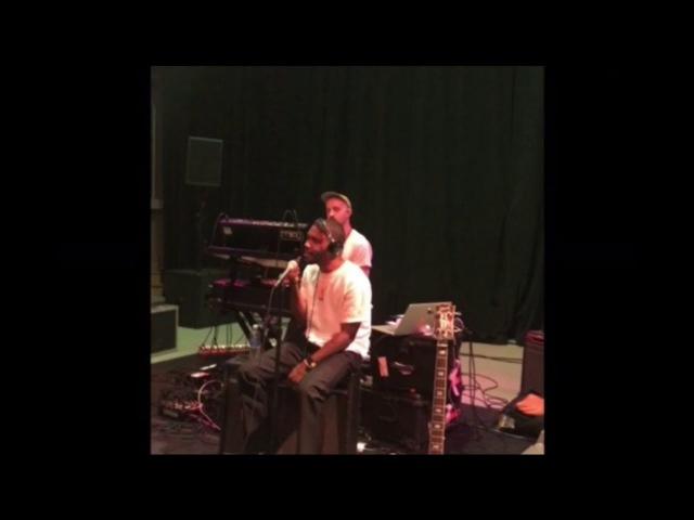 Frank Ocean - Nikes (Live Studio VideoRecording)