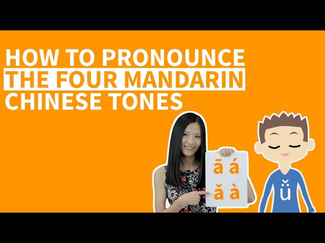 Learn Chinese Pinyin Tones - How to Pronounce The Four Mandarin Tones - Pinyin Tone Drills Course