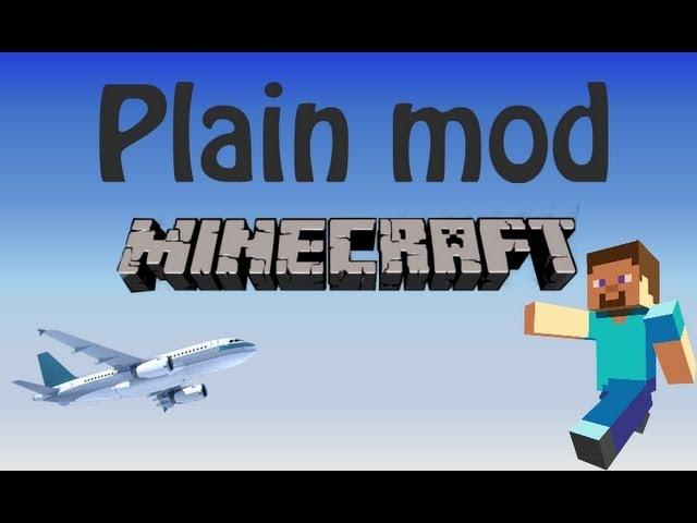 Блогер GConstr заценил! Plane Mod Minecraft. Обзор мода на самол. От AdamsonShow