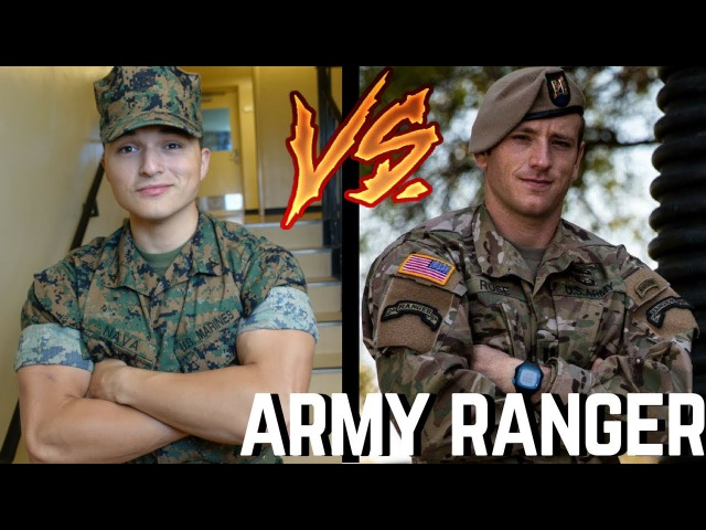 U.S Marine Attempts ARMY RANGER PFT