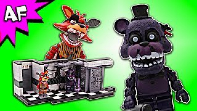 Five Nights at Freddy's PARTS SERVICE Speed Build - FNAF McFarlane Toys LEGO compatible set