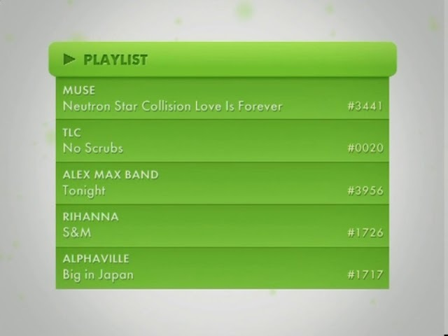 Music Box TV - Заставки и плейлист (2011)