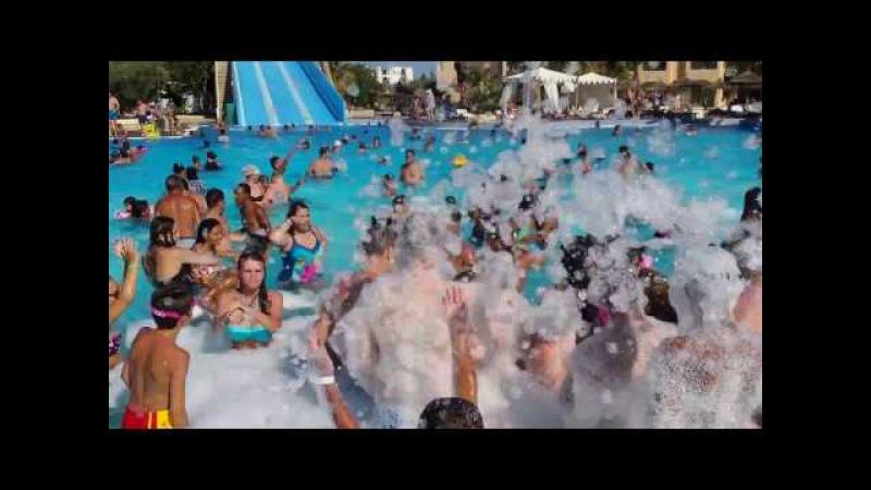 HOTEL Soviva Resort (Tunisie Port El-Kantaoui) FOAM PARTY