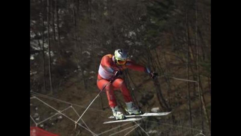XXIII Зимние Олимпийские игры / Горные лыжи. Мужчины. Супергигант. Финал / Видео / Russia.tv