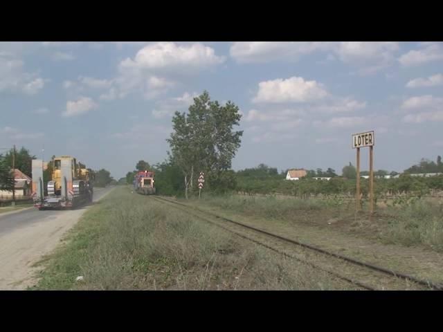 Hungary Narrow Gauge Railway Kecskemet area