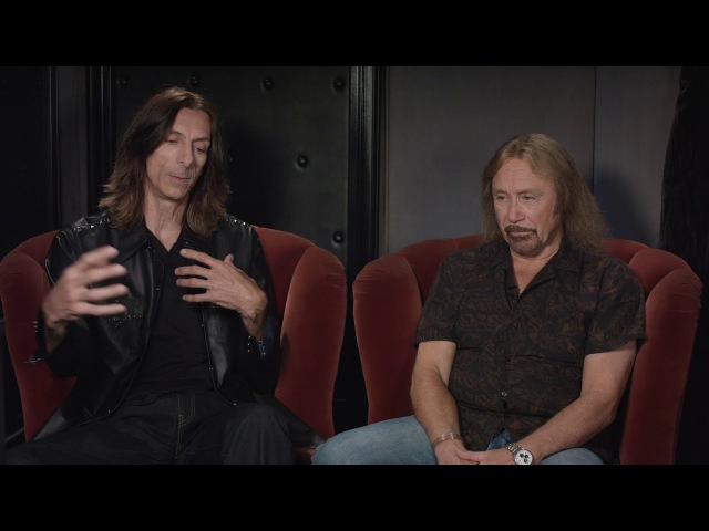 Judas Priest Firepower Scott and Ian talk about working with producers Tom Allom and Andy Sneap