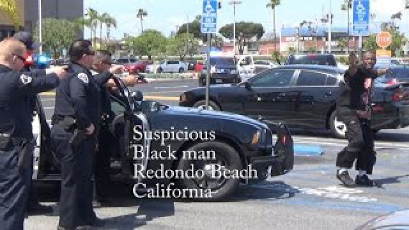 Man At Gunpoint - Redondo Beach Police Gallleria Mall RBPD