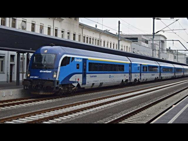 ČD railjet v stanici Graz Hbf