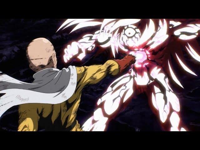 Saitama vs Boros-Сайтама против Бороса AMW