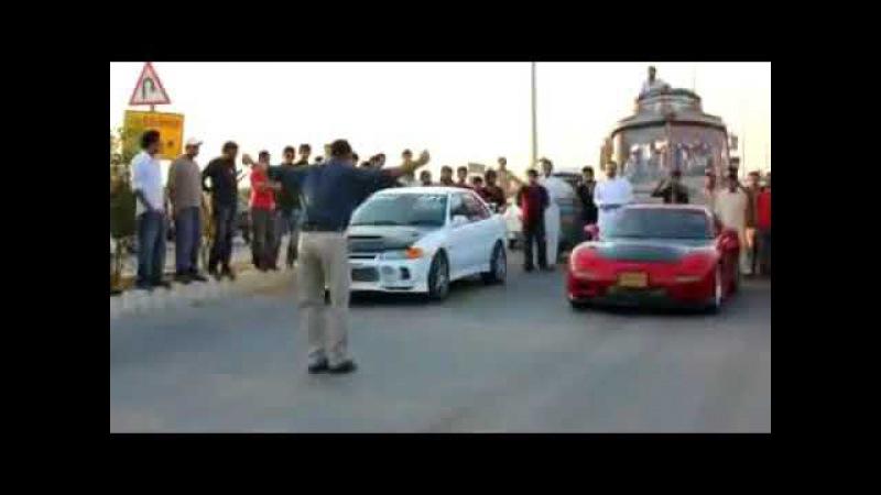 Car Racing Lahore Omair RX 7 on Slicks vs best car racing 2018