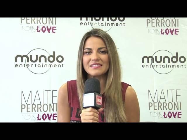 Maite Perroni fala de sua turnê pelo Brasil ( TV UOL) (Legendado)