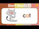 Short Vowels Chant for Kindergarten - Three Letter and Four Letter Words - ELF Kids Videos