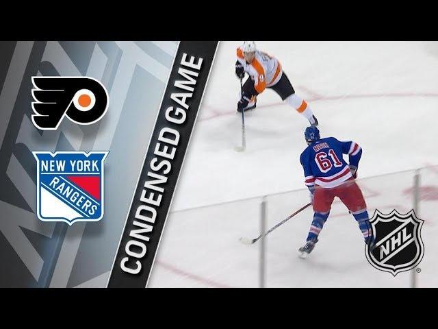 Philadelphia Flyers vs New York Rangers January 16, 2018 HIGHLIGHTS HD