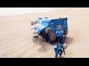 Вид из кабины КАМАЗа Dakar 2018
