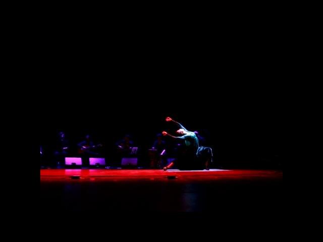 Фламенко, испанский танец _Наталия Прибытко (Natalia Pribytko por taranto _ Flamenco)