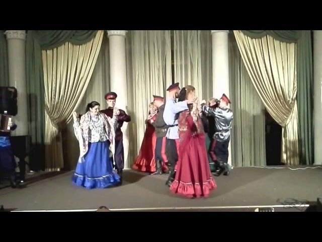 Урюпинская полька с каблучком-анс.казачьей песни Вечеринка
