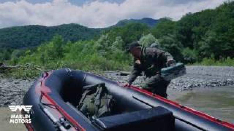 Большой тест-драйв на горной реке лодка SMARINE STRONG! Самое экстремальное видео