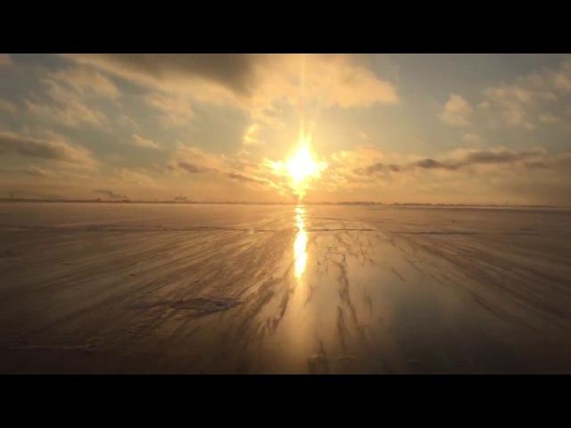Золотой лёд Финского залива