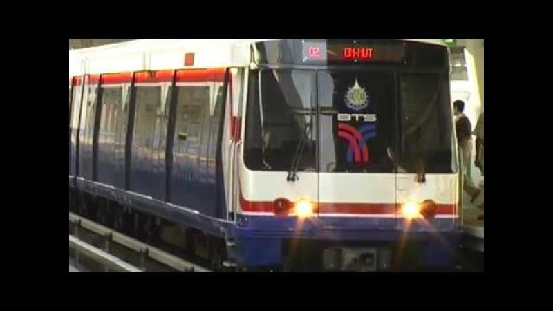 Thailand Bangkok BTS Skytrain Таиланд Бангкок Надземное метро METRO メトロ U-Bahn 地铁 지하철 مترو मेट्रो