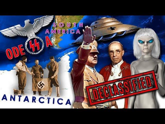 Альцион Плеяды 64: Антарктида,секретные проекты, базы нацистов-пришельцев, Аненербе, Одесса