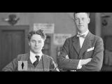 Charlie Chaplin and Prince Axel of Denmark - Rare Archival Footage (1919)