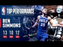 Ben Simmons Notches 8th Career Triple Double!