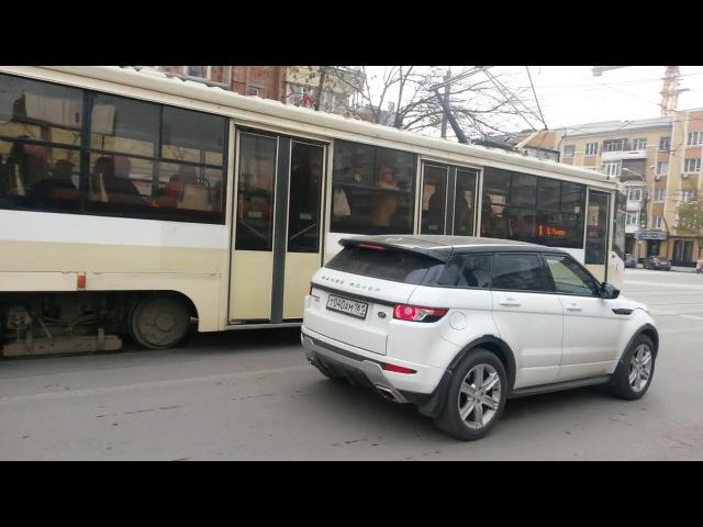 Исследование: 722 автомобиля и 4 трамвая в час на Горького (23.11.2017)
