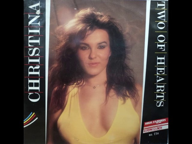 Christina Two Of Hearts Ooh Version 1987