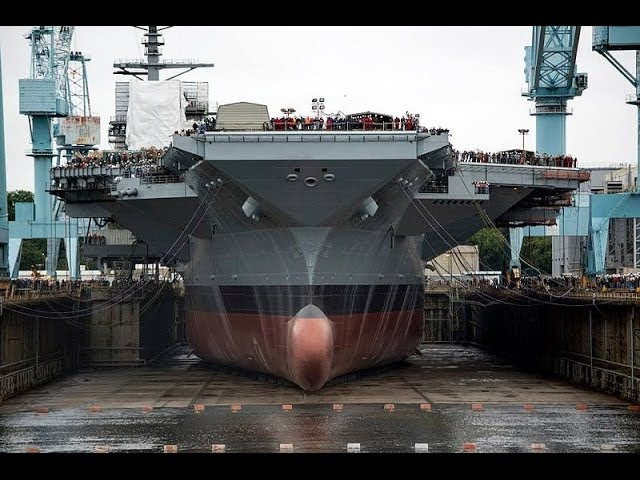 ✪BUILDING GREATEST SUPER CARRIER IN THE WORLD✪ (November 2013)