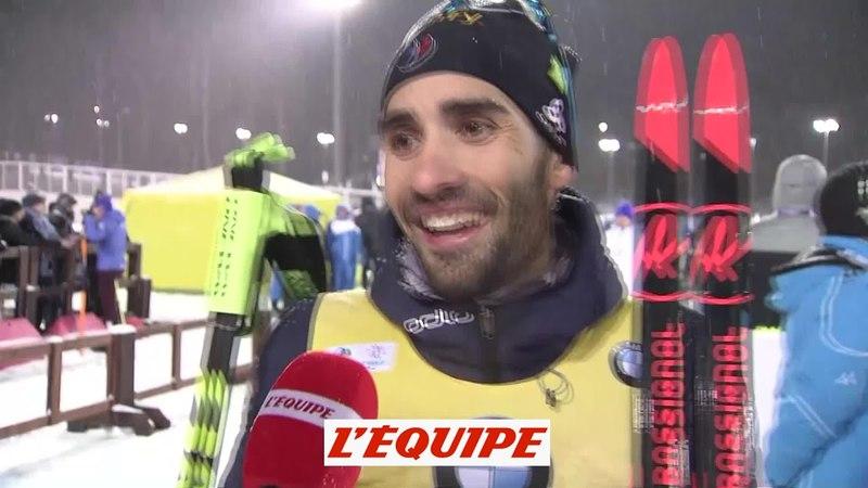 Fourcade «Une fierté immense» - Biathlon - CM (H) - Tyumen