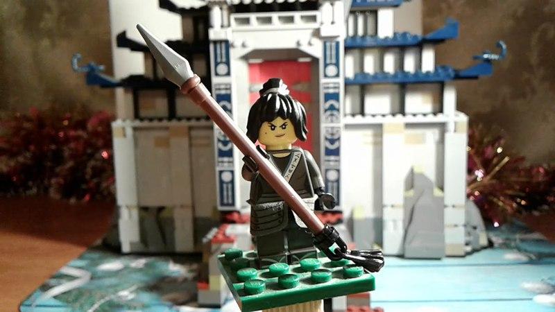Лего ниндзяго фильм.Храм последнего оружия