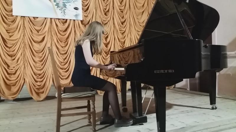 Луганцева Оксана - В. С. Ходош «Осень»