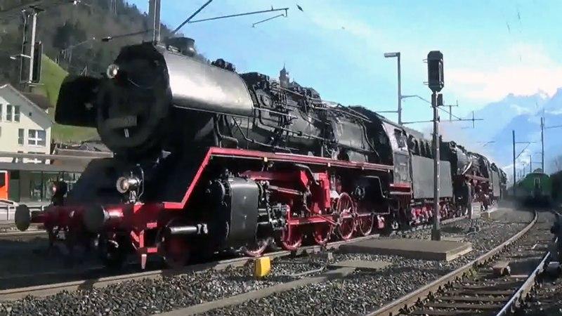 Tripla trazione a vapore sul Gottardo – Dreifachtraktion volldampf am Gotthard – part 13
