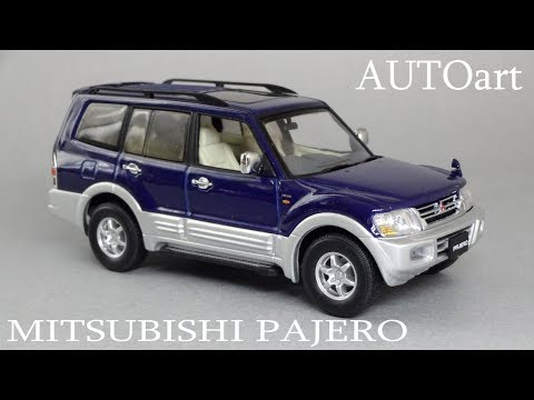 Mitsubishi Pajero III (5-Door) 143 | AUTOart | обзор масштабной модели