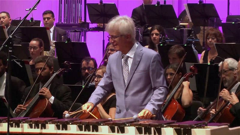 Ney Rosauro Concerto No. 2 for Marimba Orchestra / Mvt 3: Walking on Clouds