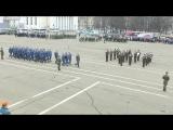 Репетиция шествия Победы в Кирове 03.05.2018 – запись с беспилотника