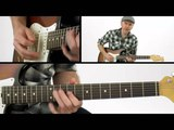 Solo Electric Blues Guitar Lesson - #24 Double-Stop Jam - Jeff McErlain