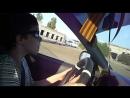 Обучаю сына вождению . Занятие № 2