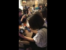 10.11.2017 U-KISS Kiseop - private event in Sinjeon Tokbokki restaurant @ Vietnam Ho Chi Minh City