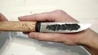 Тайны якутского ножа: обзор кованного якута от Алексея Шпаковича