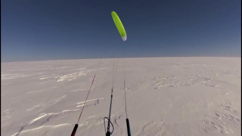 Кейт поход на лыжах по полуострову Канин.