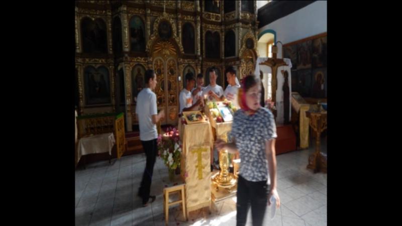 Николаевский храм в селе Большое Устинское