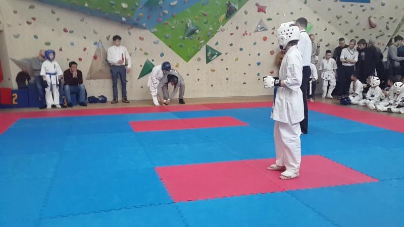 Каратэ соревнования тренер Юрий Шаталин