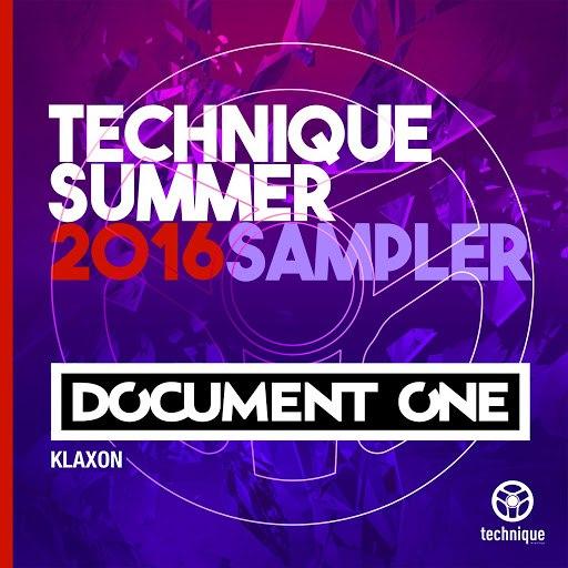 Document One альбом Klaxon (Technique Summer 2016 Sampler)