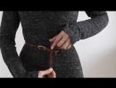 Как стильно завязать ремень, 8 способов _ 1 belt 8 ways of using