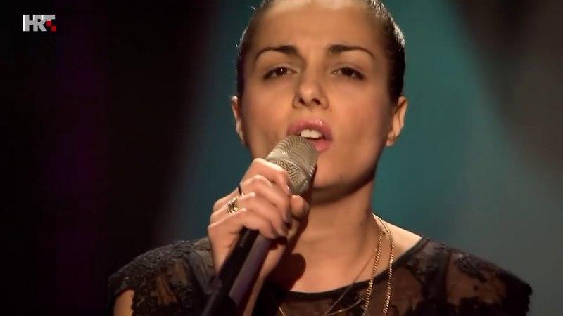 Шоу Голос Хорватия 2016. - Елена Стелла с песней Пускай слезу. — The Voice Croatia 2016.